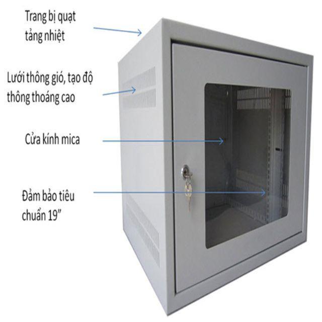 cấu tạo tủ rack 15U