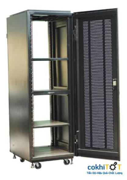 tủ rack 42U màu đen