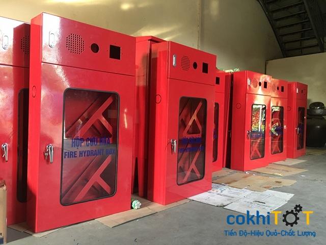 sản xuất tủ cứu hỏa