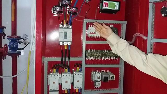 cấu tạo tủ bơm điện chữa cháy