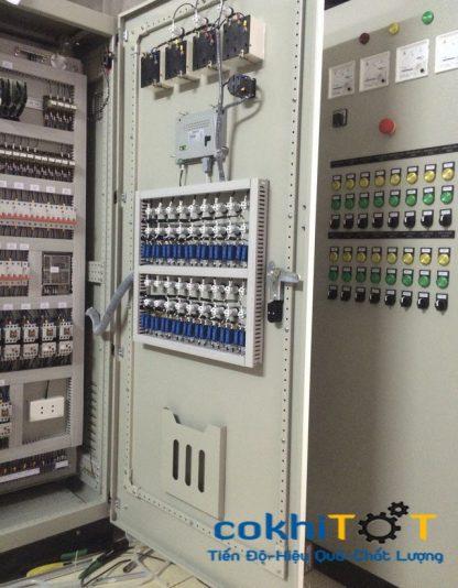 tủ điện xử lý nước thải ngoài trời