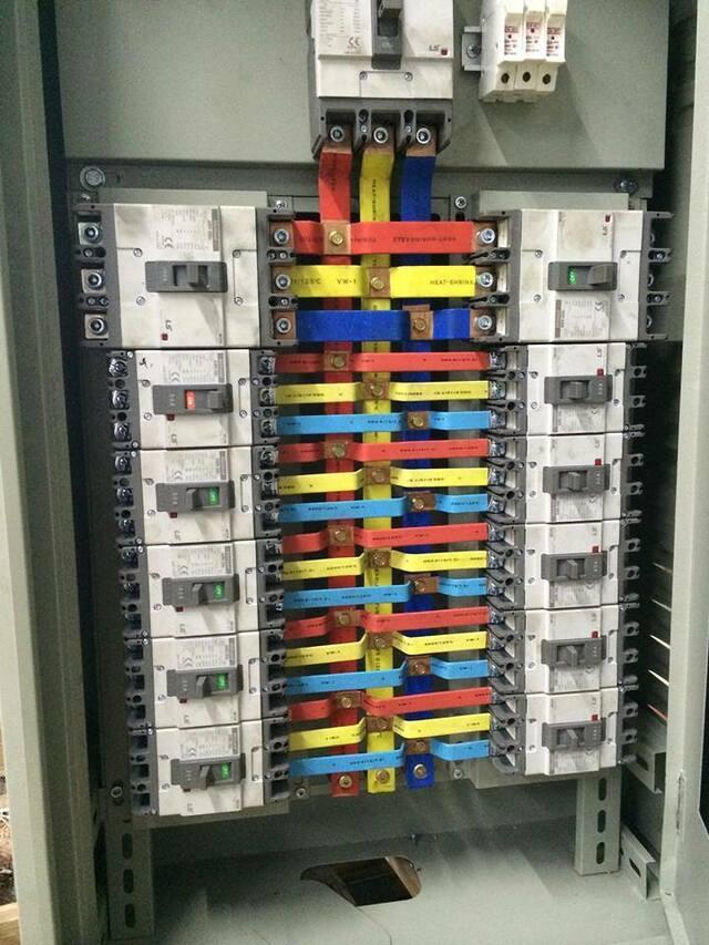 tủ điện phân phối nguồn DB