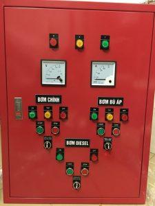hình ảnh tủ điều khiển bơm chữa cháy