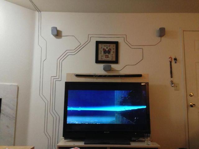 cách đi dây điện nổi trong nhà đẹp