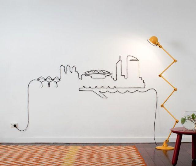 đi dây điện nổi trong nhà đẹp