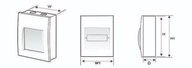 cấu tạo của tủ điện âm tường