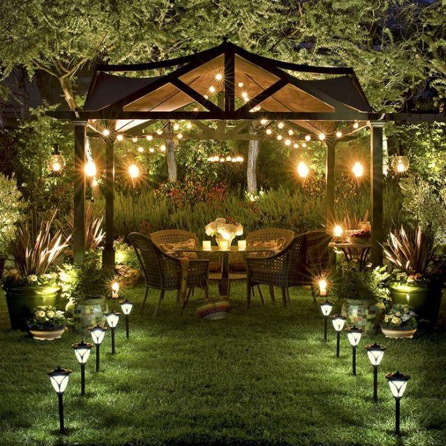 đèn trang trí sân vườn 19