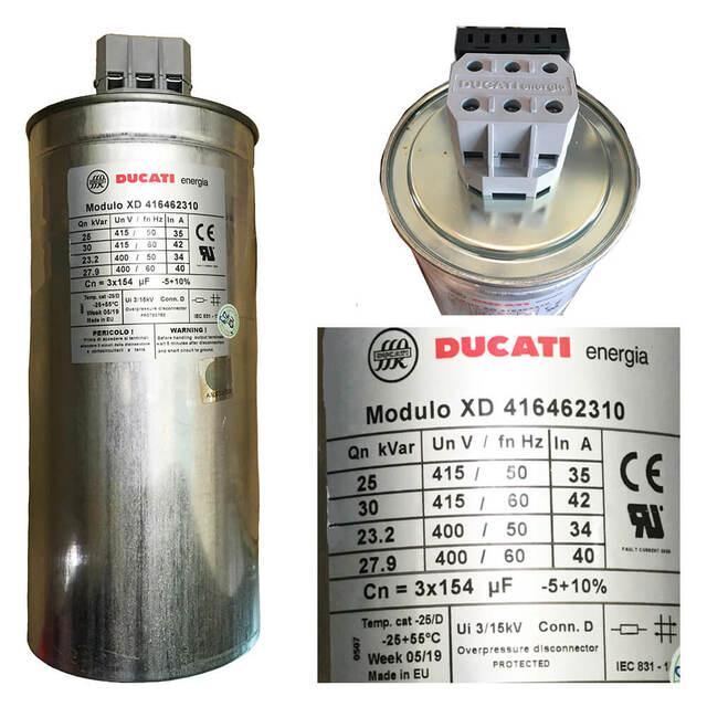Tụ bù Ducati XD416462310