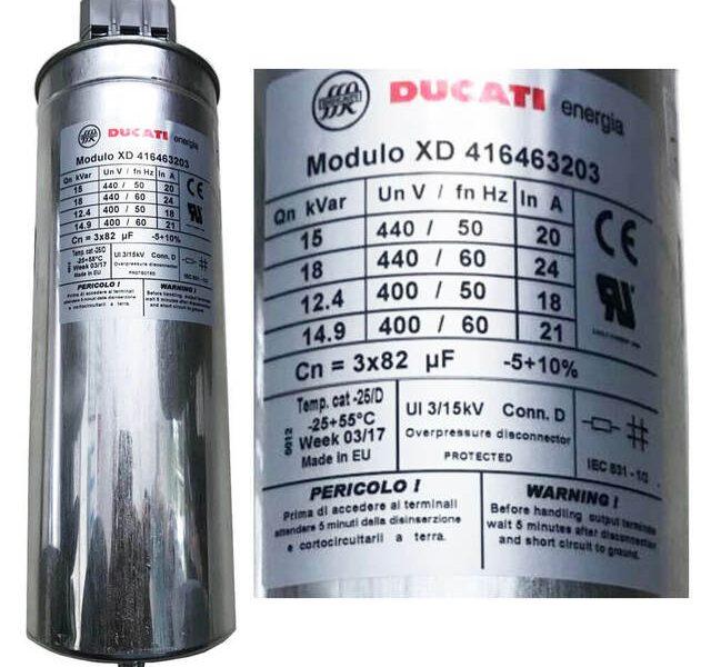 Tụ bù Ducati XD416463203