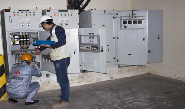 Hoạt động kiểm định tủ điện